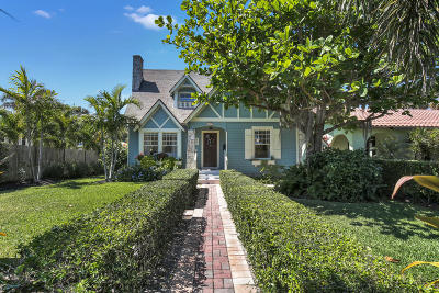 Lake Worth, Lakeworth Single Family Home For Sale: 621 Lakeside Drive E