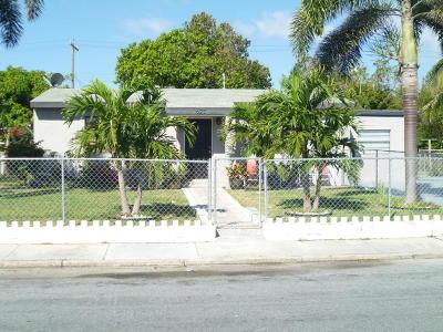 Lake Worth, Lakeworth Single Family Home For Sale: 623 S E Street