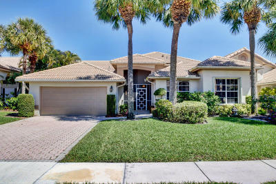 Boynton Beach Single Family Home For Sale: 7204 Ashford Lane