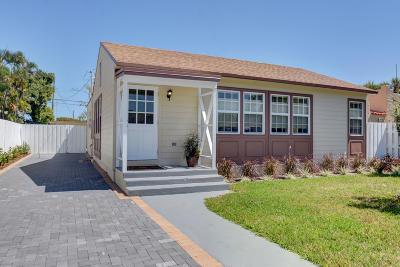 Lake Worth Single Family Home For Sale: 616 J Street