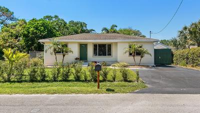 Lake Worth, Lakeworth Single Family Home For Sale: 905 Mulberry Road