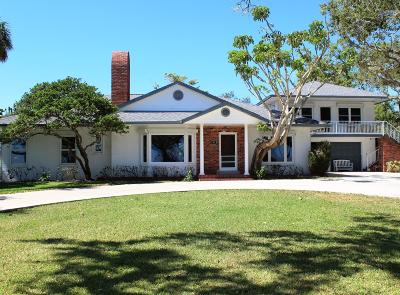 Fort Pierce Single Family Home For Sale: 809 S Indian River Drive