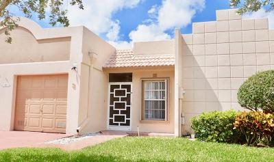 Boca Raton Single Family Home For Sale: 9305 Flynn Circle #3