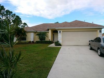 Port Saint Lucie Single Family Home For Sale: 2281 SW Kenwick Avenue