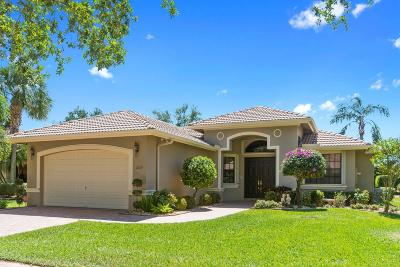 Boynton Beach Single Family Home Contingent: 7879 Via Grande