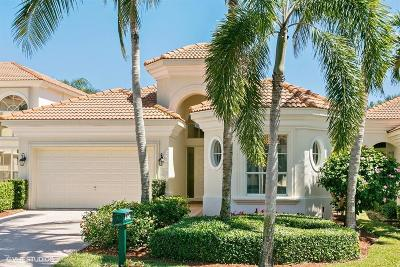 West Palm Beach Single Family Home For Sale: 8492 Legend Club Drive