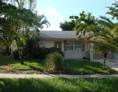 Greenacres FL Single Family Home For Sale: $209,000