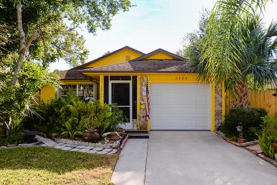 Vero Beach Single Family Home For Sale: 2460 84th Terrace