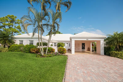 Boynton Beach Single Family Home For Sale: 4540 Sanderling Lane W