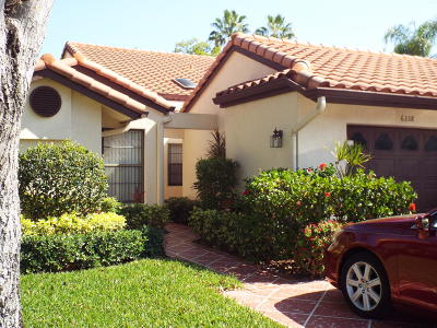 Delray Beach Single Family Home For Sale: 6338 Royal Manor Circle