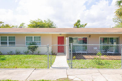West Palm Beach Single Family Home For Sale: 3503 Westview Avenue