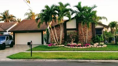Boca Raton Single Family Home For Sale: 11668 Quiet Waters Lane
