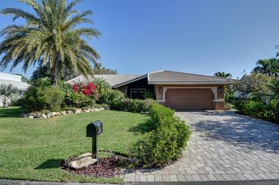 Delray Beach Single Family Home For Sale: 5109 Foxpointe Circle