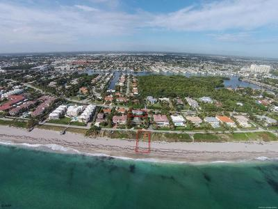 Ocean Ridge Rental For Rent: 5907 Ocean Boulevard
