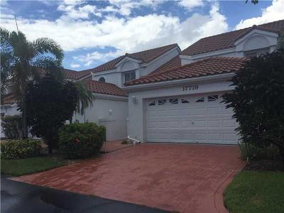 Boca Raton Townhouse For Sale: 17719 Candlewood Terrace
