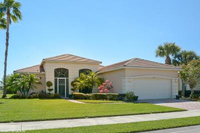 Port Saint Lucie Single Family Home For Sale: 279 SW Lake Forest Way