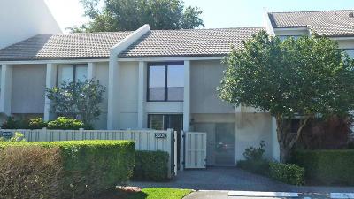 Boca Raton Townhouse For Sale: 2506 Bridgewood Drive #2506