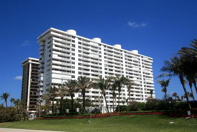 Cloister Beach Towers Condo Condo For Sale: 1200 S Ocean Boulevard #8e