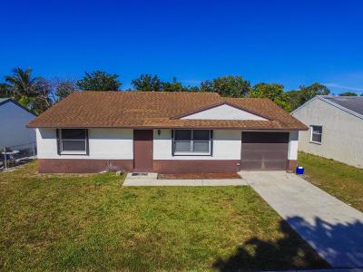 Greenacres FL Single Family Home For Sale: $245,000