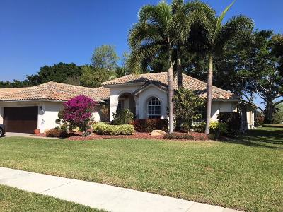 Lake Worth, Lakeworth Single Family Home For Sale: 7151 Lockwood Road