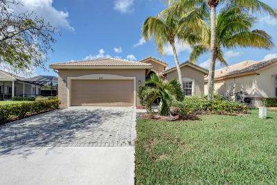 West Palm Beach Single Family Home For Sale: 8614 Green Cay