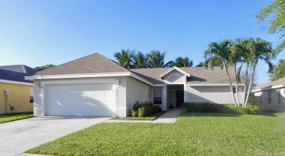 Boynton Beach Single Family Home For Sale: 6285 Terra Rosa Circle