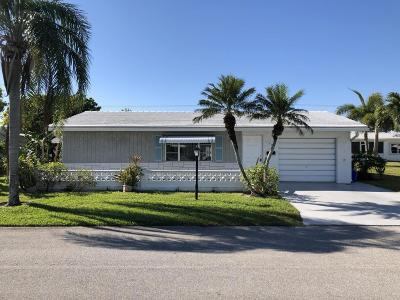 Boynton Beach Single Family Home For Sale: 1504 SW 22nd Avenue