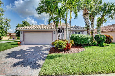 Boynton Beach Single Family Home For Sale: 7679 Caprio Drive