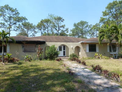 Lake Worth, Lakeworth Single Family Home For Sale: 5283 Michlar Drive