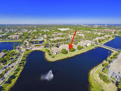 Palm Beach Gardens Condo For Sale: 2814 Grande Parkway #110