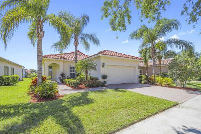 Port Saint Lucie Single Family Home For Sale: 384 NW Breezy Point Loop