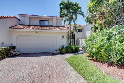 Boca Raton Townhouse For Sale: 7404 Woodmont Court