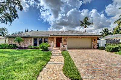 Boca Raton Single Family Home For Sale: 1260 SW 15th Street