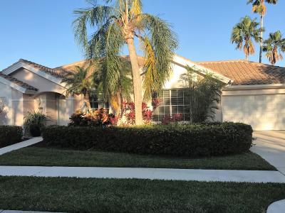 Palm Beach Gardens FL Single Family Home For Sale: $495,000