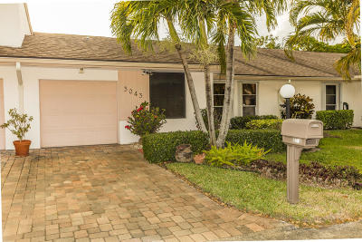 Lake Worth, Lakeworth Single Family Home For Sale: 3043 Strawflower Way