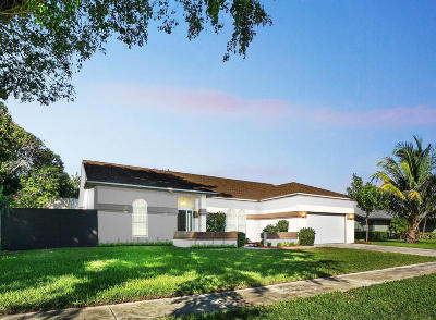 Boynton Beach Single Family Home For Sale: 3615 Diane Drive