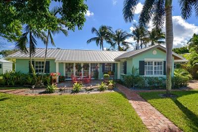 Delray Beach Single Family Home For Sale: 402 Lake Drive