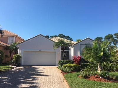 Port Saint Lucie Single Family Home For Sale: 1635 SE Ballantrae Boulevard