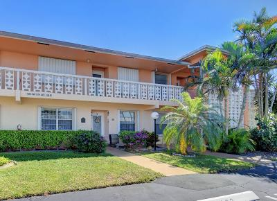 Delray Beach FL Condo For Sale: $75,000