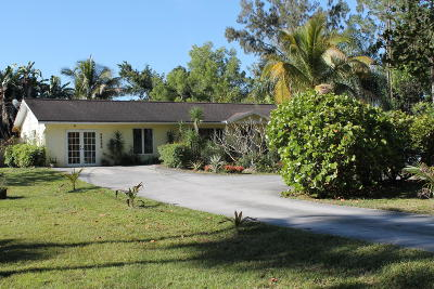 Jupiter Single Family Home For Sale: 12196 169th Court