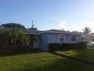 west palm Single Family Home For Sale: 2705 Nassau Road