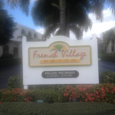 Boca Raton Condo For Sale: 775 Jeffery Street #5-302