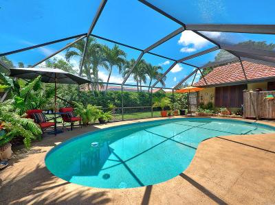 Boynton Beach Single Family Home For Sale: 9520 Majestic Way