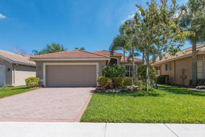 Boynton Beach Single Family Home For Sale: 10608 Fawn River Trail