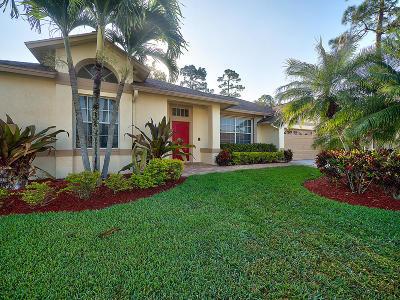 Lake Worth Single Family Home For Sale: 3807 Woods Walk Boulevard