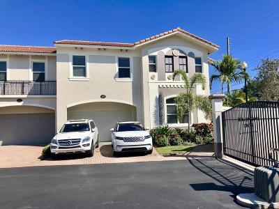 Delray Beach Townhouse For Sale: 1885 Highland Grove Drive