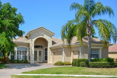 Port Saint Lucie Single Family Home Contingent: 9183 Pumpkin Ridge
