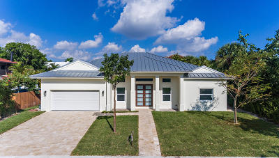 West Palm Beach Single Family Home For Sale: 225 Beverly Road