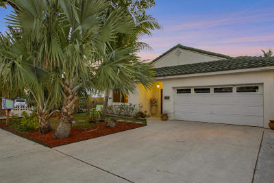 Lake Worth Single Family Home For Sale: 1529 S Palmway