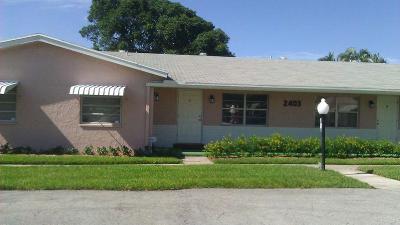 Delray Beach Rental For Rent: 2403 Lowson Boulevard #D